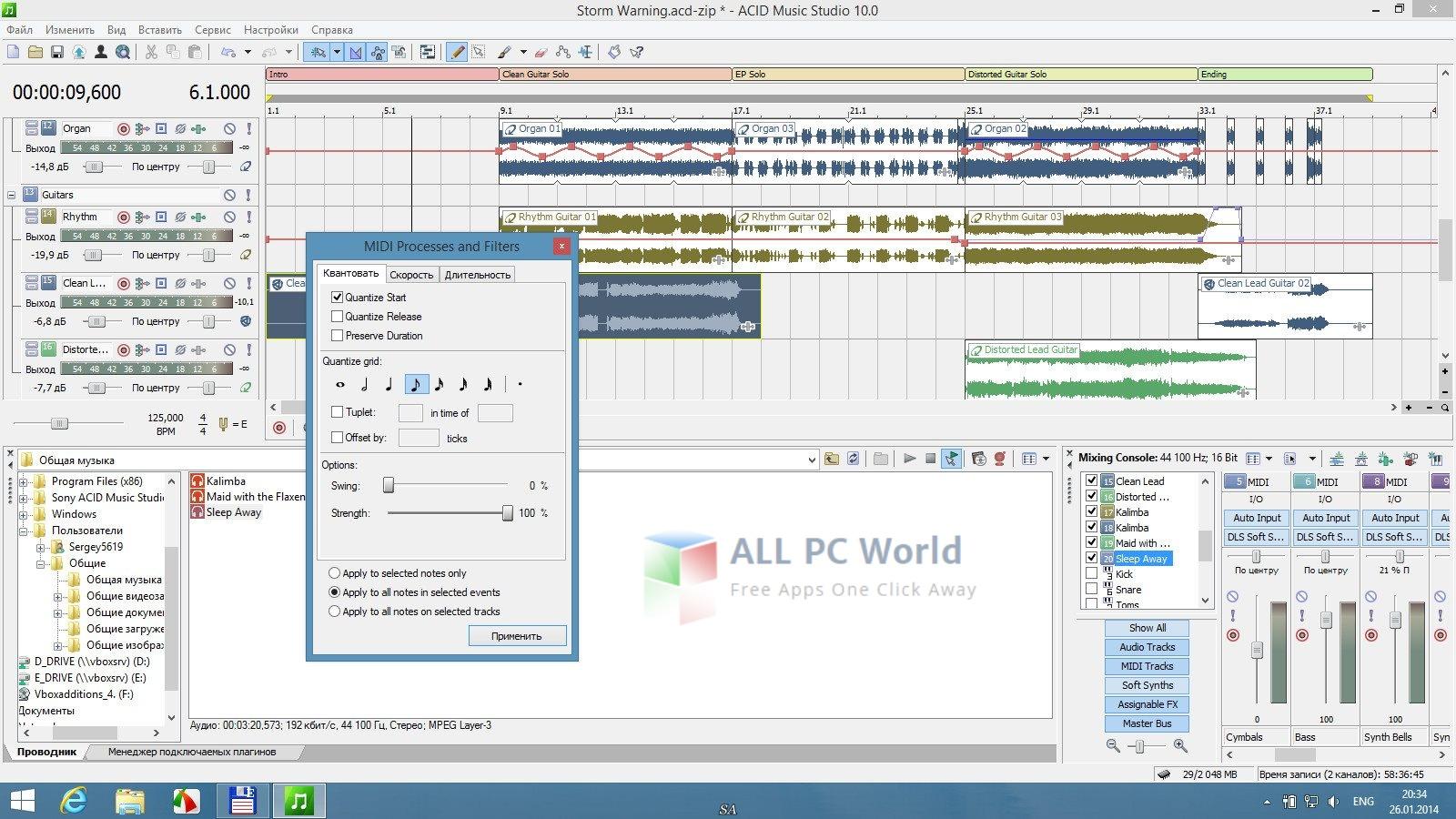 MAGIX Acid Music Studio 10.0 Build 134 Multilingual Portable Review