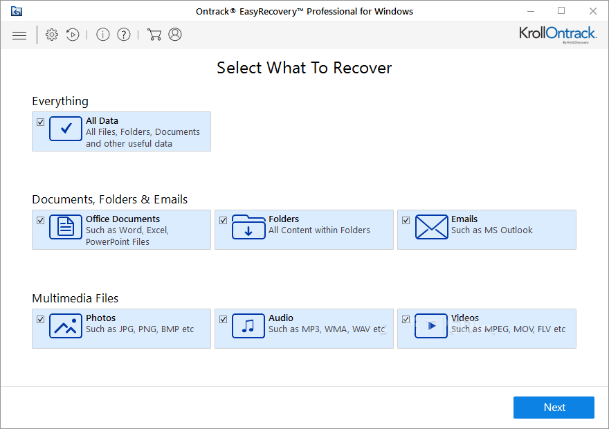 Ontrack EasyRecovery Professional 15 Free Download