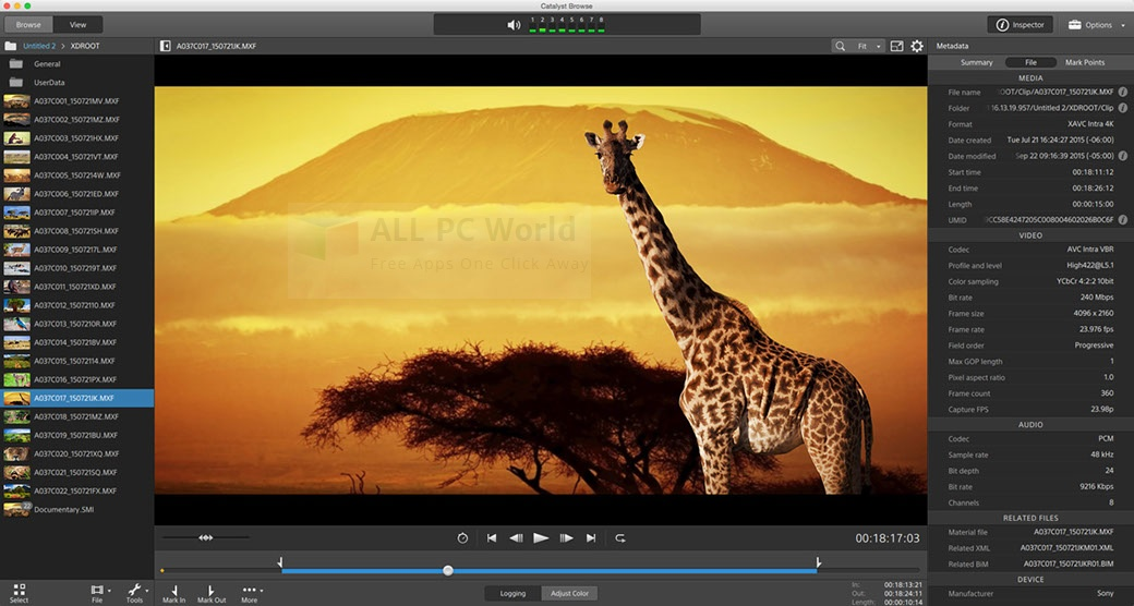 Sony Catalyst Production Suite 2016 Review