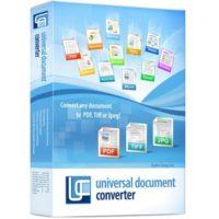 Universal Document Converter v6.7 Final Free Download