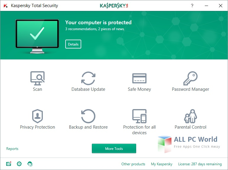 Kaspersky Total Security 2017 Review