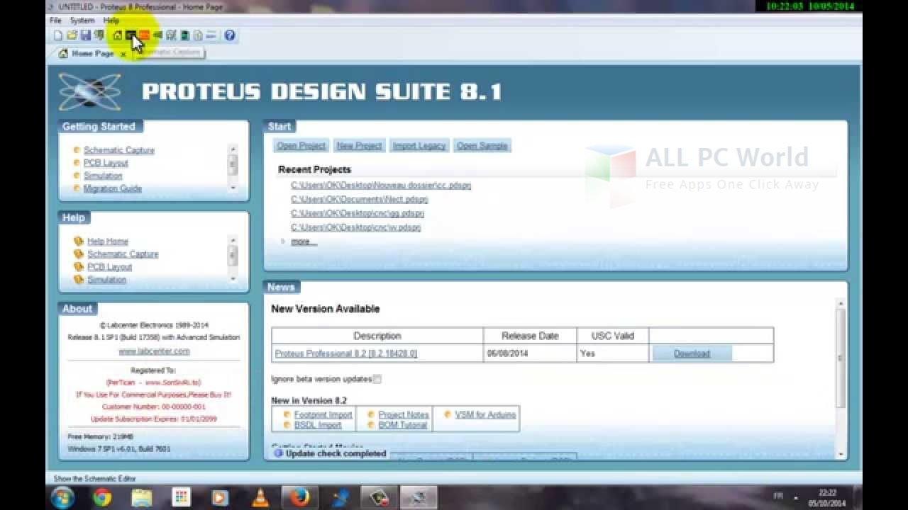 Download Proteus Design Suite 2014 Professional 81 Sp1 Free All The Complete Electronics System Review