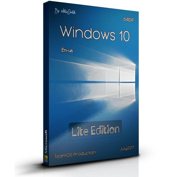 Download Windows 10 Lite Edition 15063.483 x64 DVD ISO Free