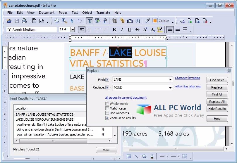 Infix PDF Editor Pro 7 Free Download