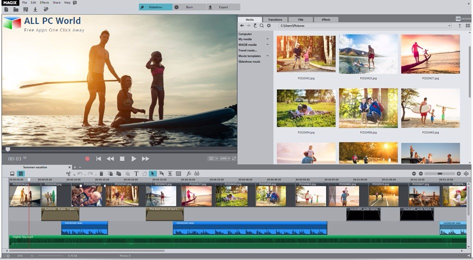 MAGIX Photostory 2017 Deluxe Review