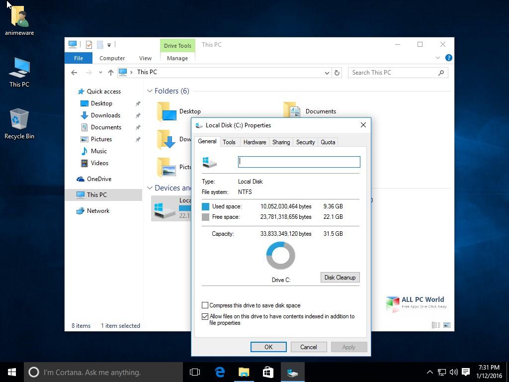 Windows 10 Lite Edition v4 x86 2017 Review