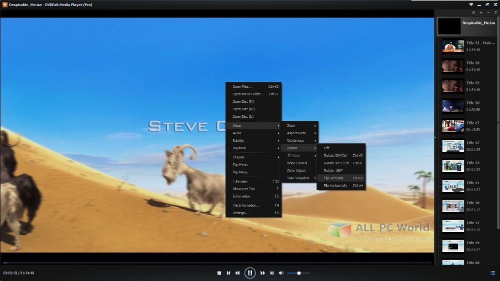 DVDFab Player 6 Free Download