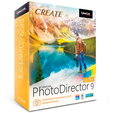 CyberLink PhotoDirector Ultra 9.0 Free Download