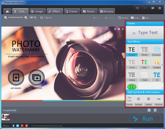 Watermark Software Overview