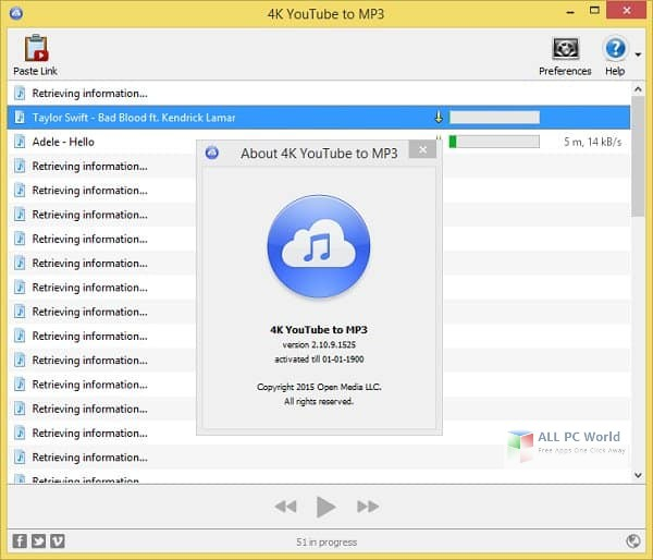 Download 4k Youtube To Mp3 3 3 Free All Pc World
