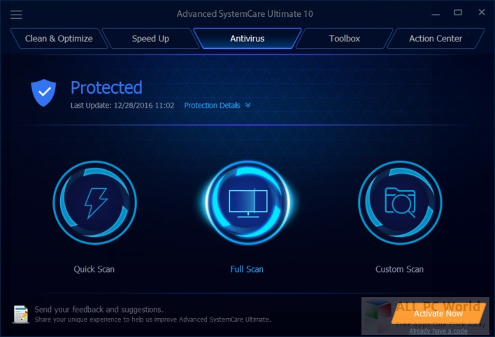 Advanced SystemCare 11 Pro Setup Download Free