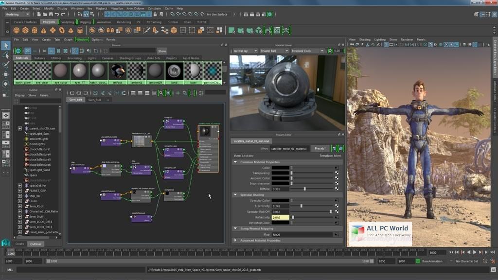 Autodesk Maya 2017 Review