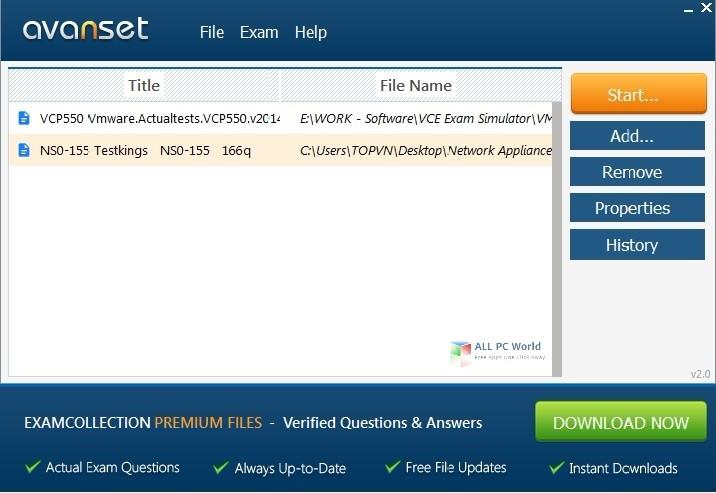 Avanset VCE Exam Simulator 2.4 Review