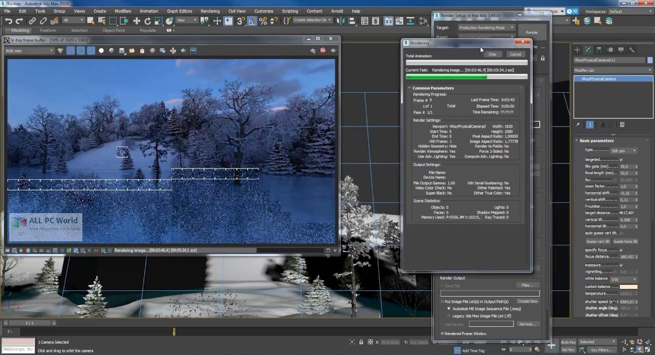 V-Ray 3.6 for 3ds Max 2018 Review