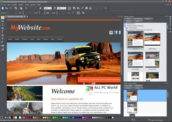 Xara Web Designer Premium 15 Free Setup Download