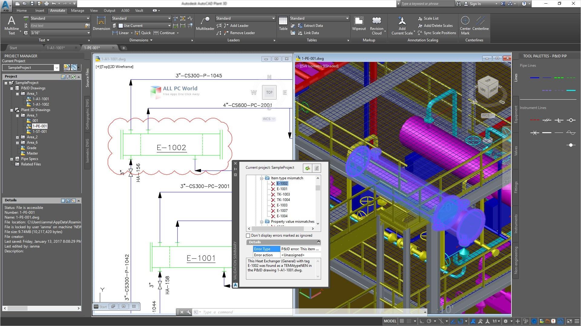 AutoCAD Plant 3D 2015 Review