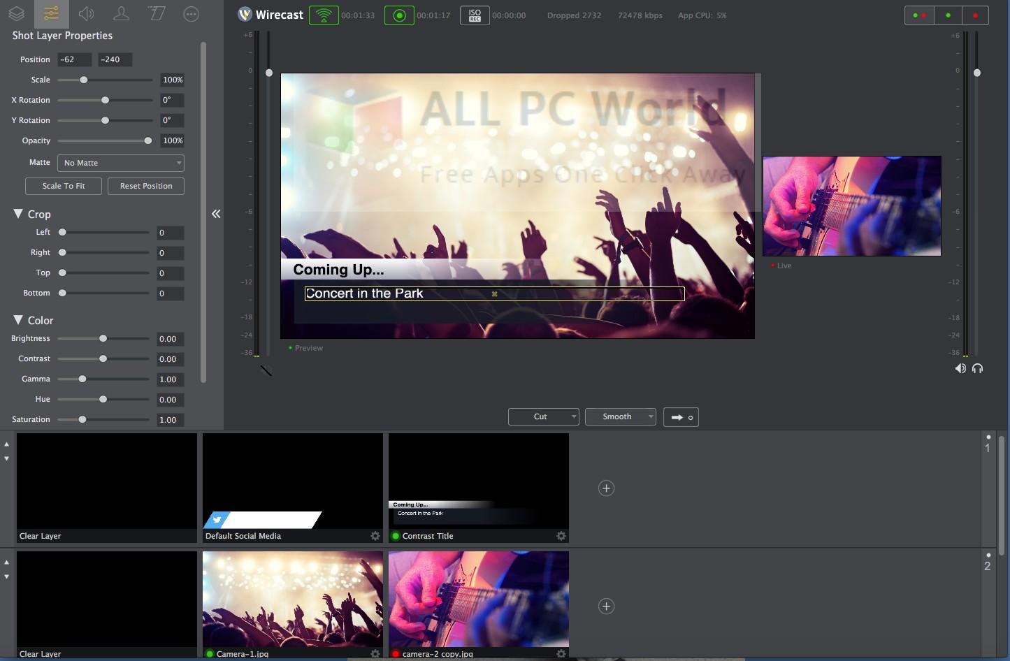 Wirecast Pro 8.3.0 Setup Free Download