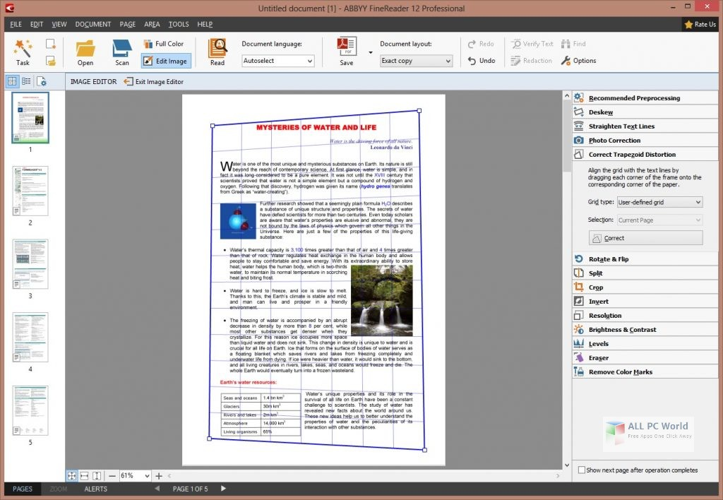 Download ABBYY FineReader Professional 12.0 Free