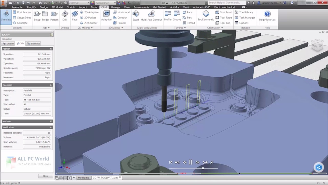 Download Autodesk HSMWorks 2019 Free
