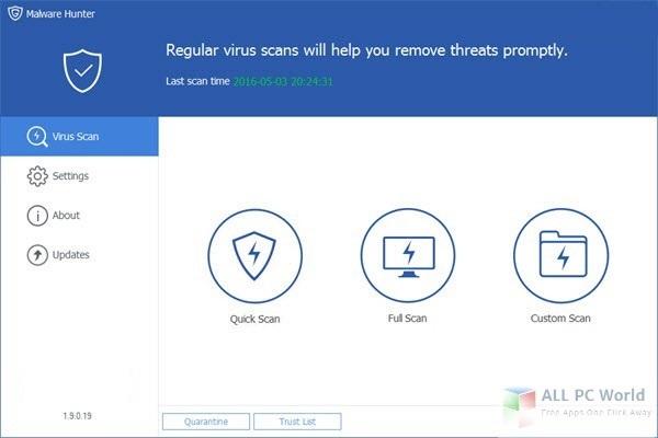 GlarySoft Malware Hunter 2017 Free Download