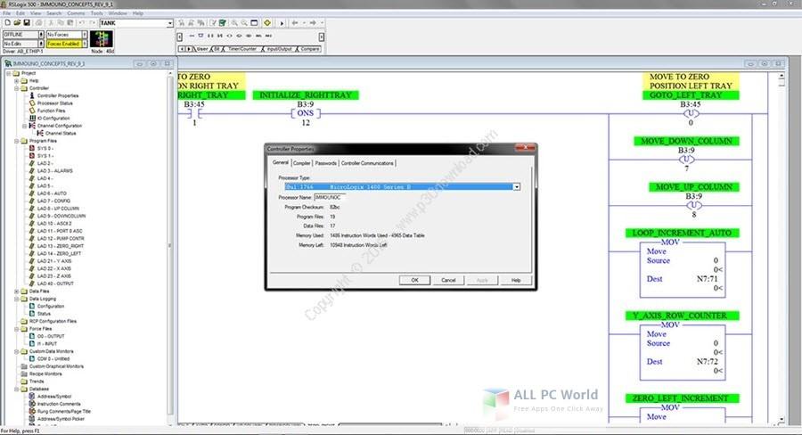 Allen Bradley RSLogix 5 v8.0 Free Download