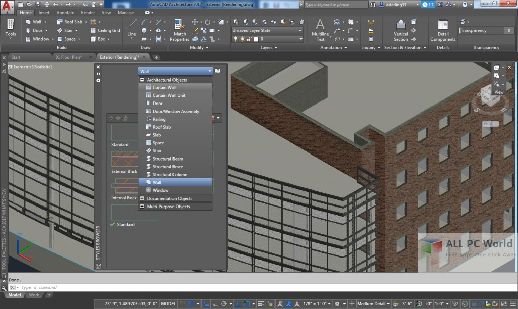 AutoCAD Architecture 2019 Free Download