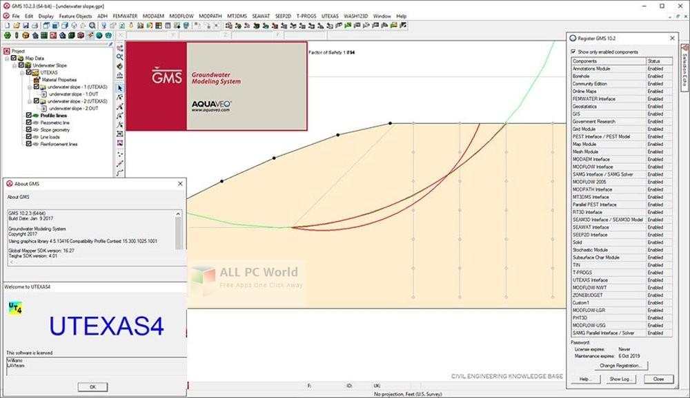 Download Aquaveo GMS Premium v10.3 Free