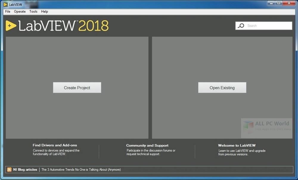 Download NI LabVIEW 2018 Free