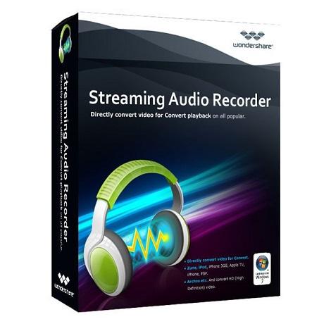 Download Wondershare Streaming Audio Recorder 2.3 Free