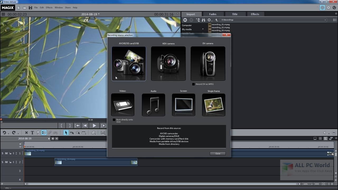 MAGIX Video Pro X 16.0 Free Download