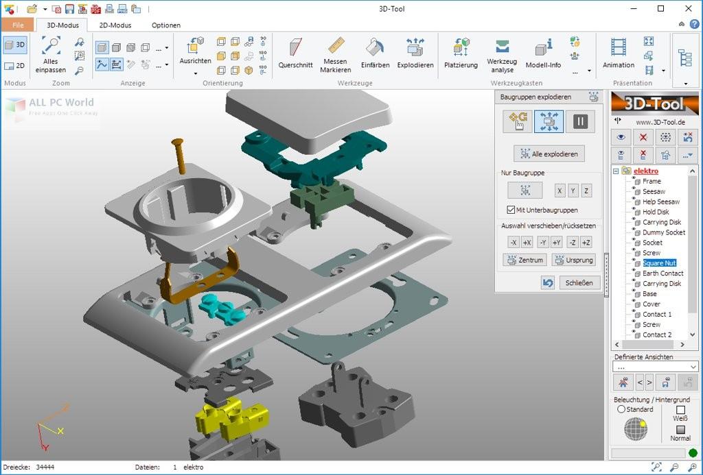 3D-Tool v13 Premium Free Download