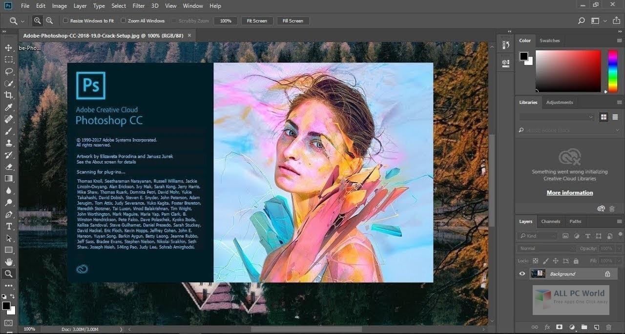 Adobe Photoshop CC 2018 19.1 Free Download