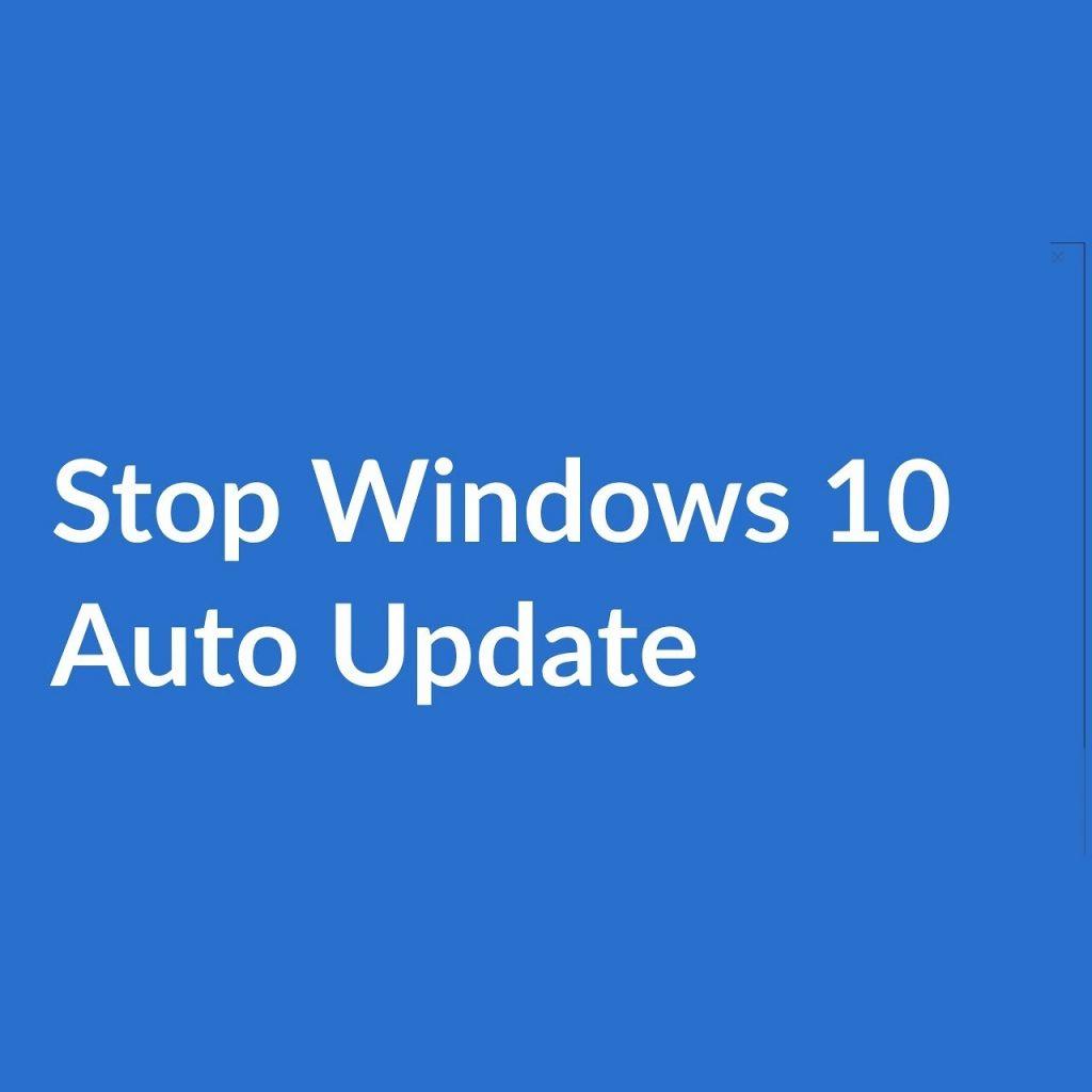 Download Stop Updates Windows 10 1.10 Free