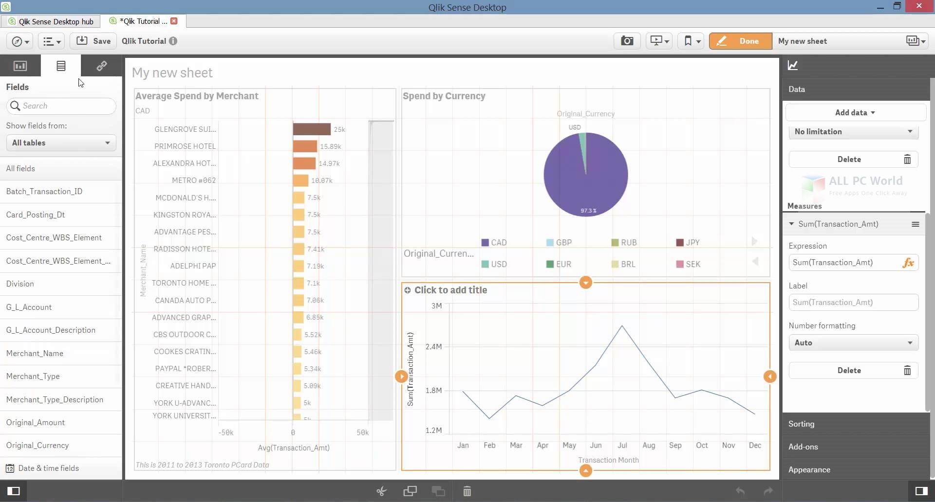 QlikTech QlikView 12.20 Desktop Edition Free Download