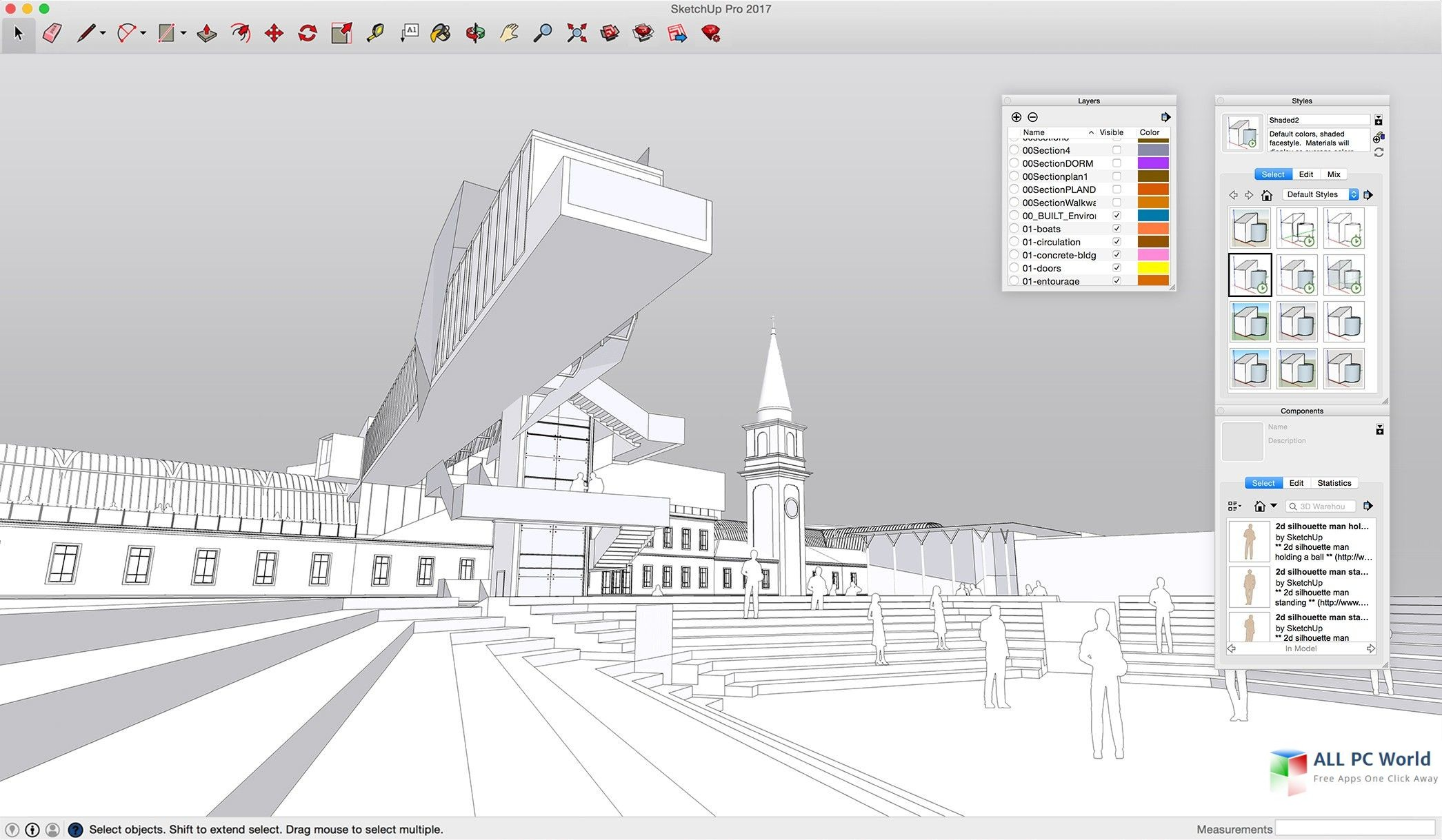 SketchUp Pro 2018 18.0 for Mac Free Download