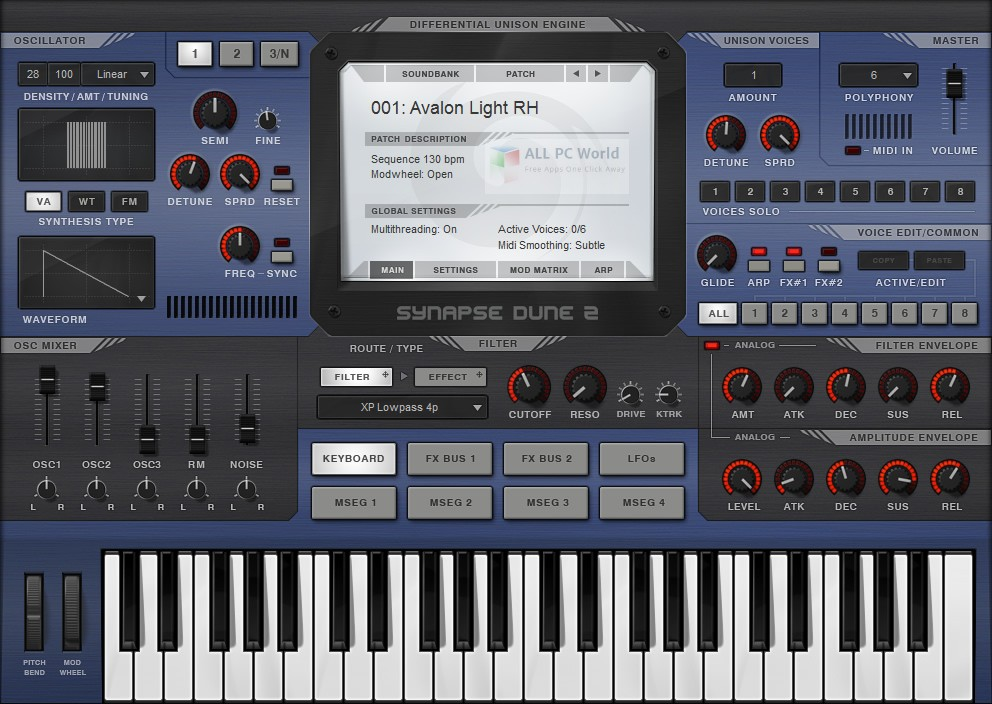 Synapse Audio DUNE 2.5 Free Download