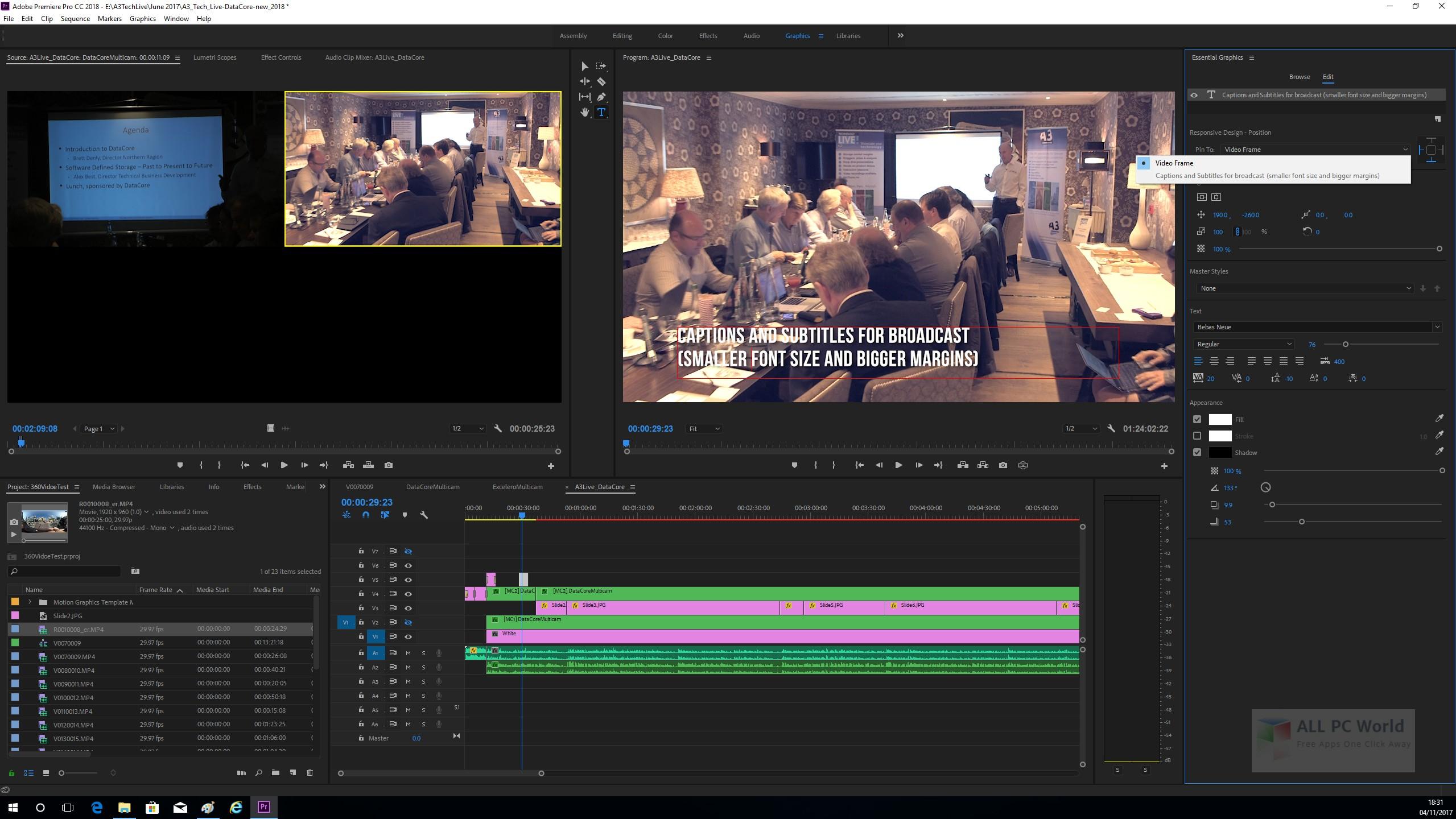 Adobe Premiere Pro CC 2018 12.1 Free Download