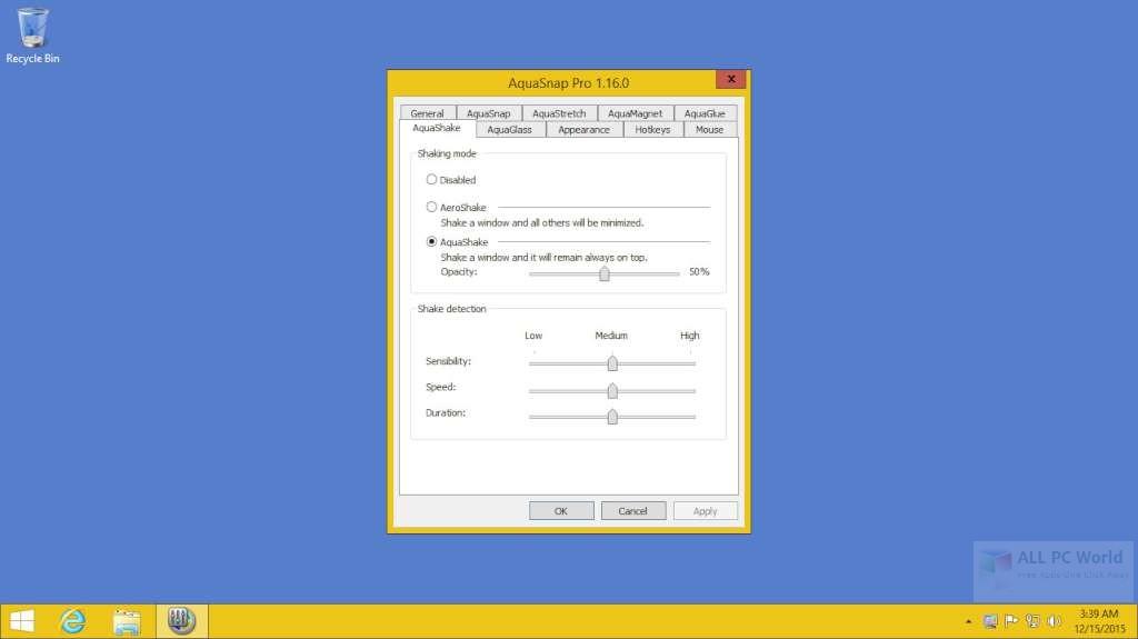 AquaSnap Pro 1.23 Free Download