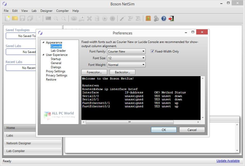 Boson NetSim 11.7 Free Download