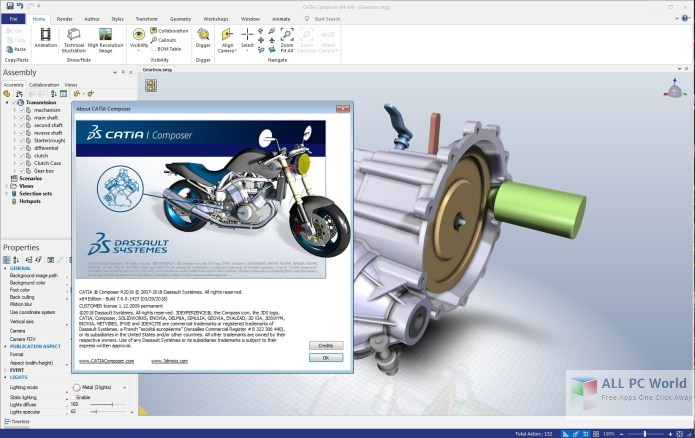 DS CATIA Composer R2019 Free Download