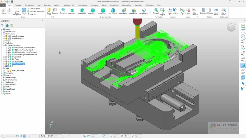 Download Autodesk Powermill Ultimate 2019 Free