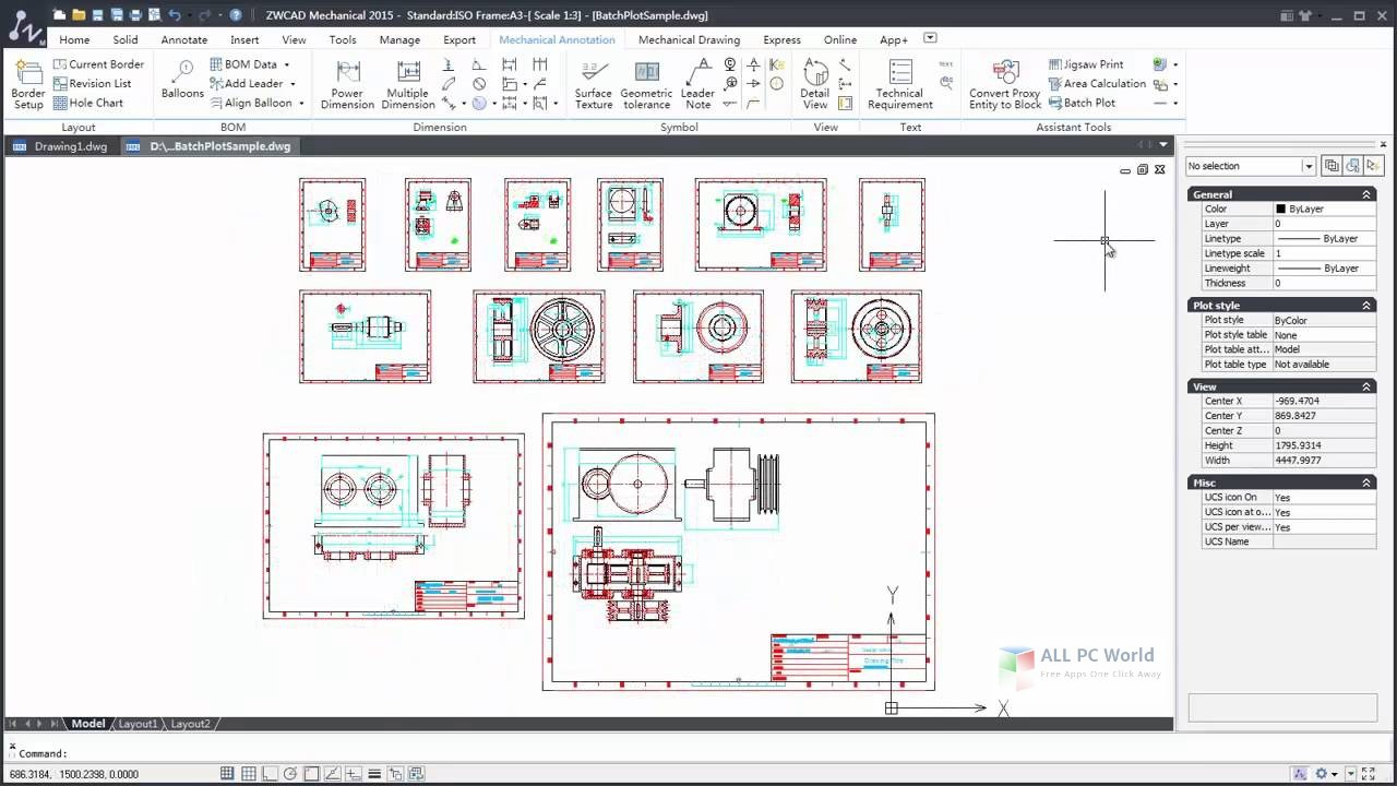 Download ZWCAD Mechanical 2017 Free