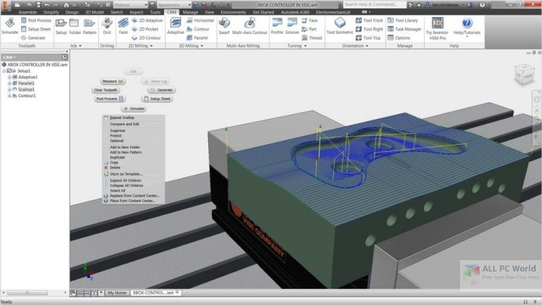 InventorCAM 2017 SP3 x64 Free Download