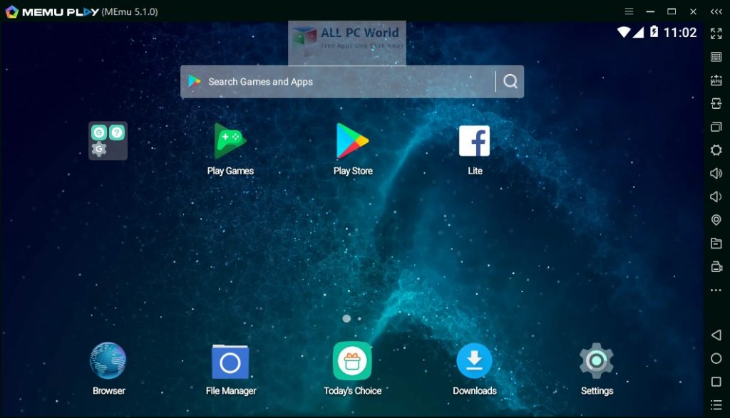 Download MEmu Android Emulator 7.3
