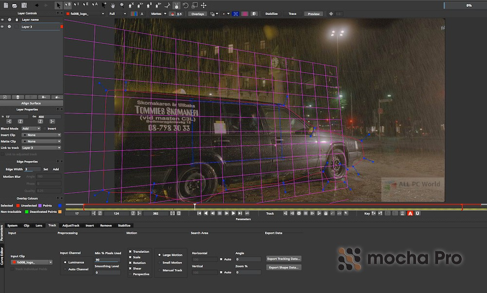 Mocha Pro v5.6.0 with Plugins Free Download
