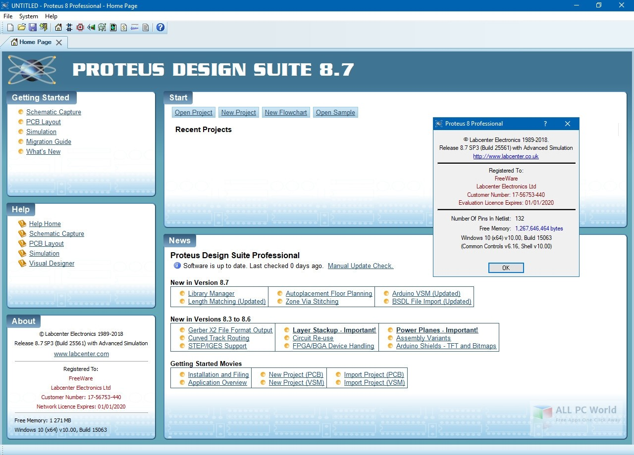 Download Proteus Professional 8 7 Pcb Design Sp3 Free All Pc World