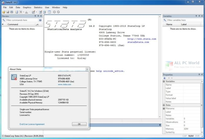 StataCorp Stata 14.2 Free Download