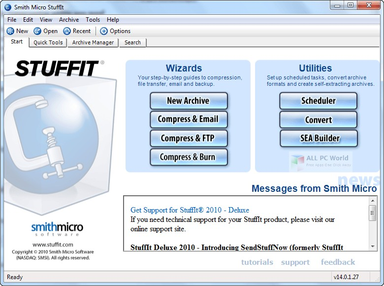SmithMicro StuffIt Deluxe 12.0 Free Download