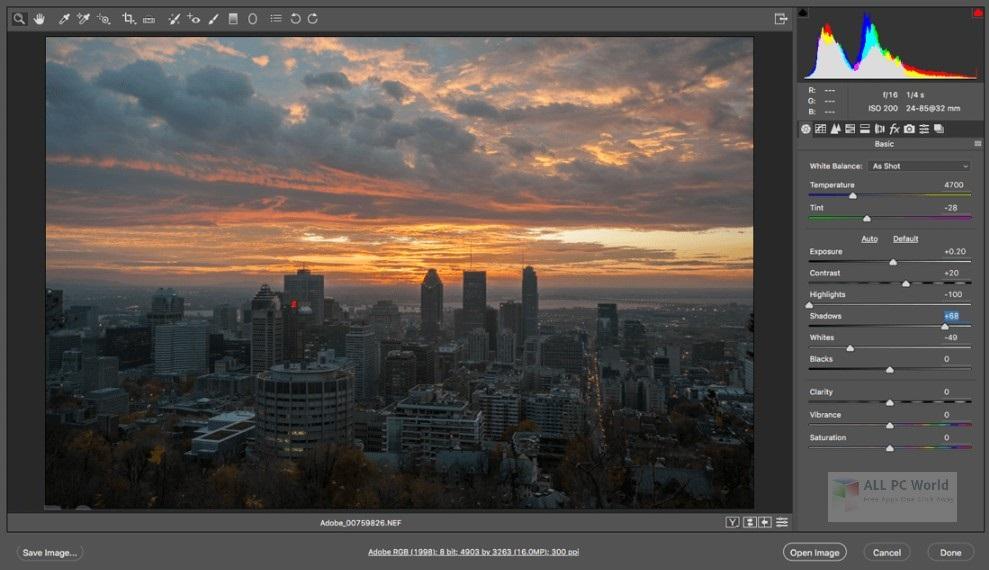 Adobe Camera Raw 10.5 Free Download