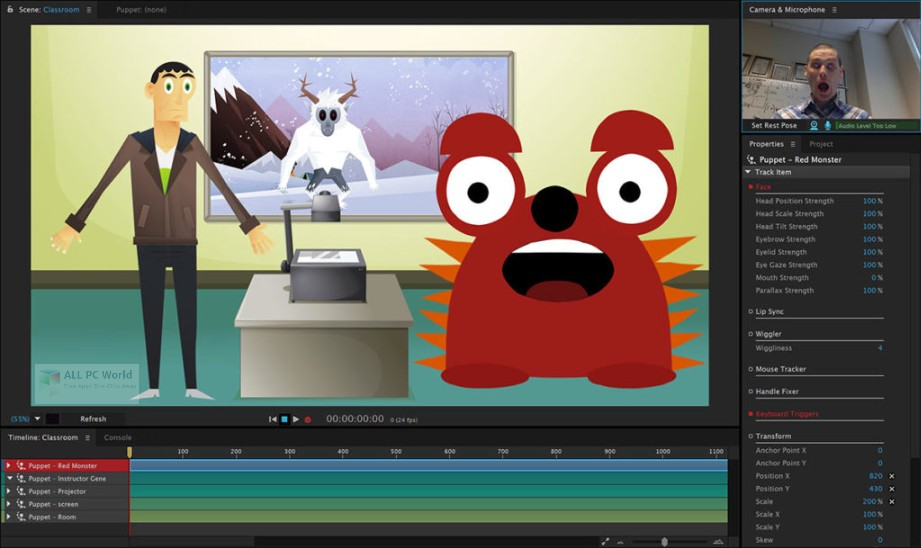 Adobe Character Animator CC 2018 v1.5 Free Download